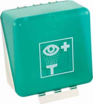 Eye wash station SecuBox with 2 bottles