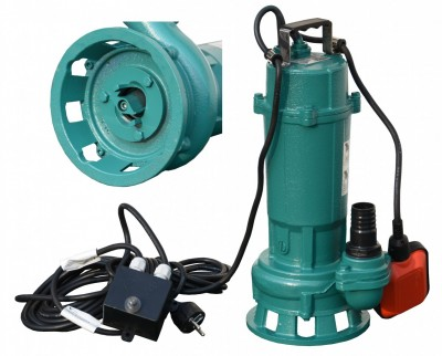 Submersible pump Furiatka for sewage with grinding system