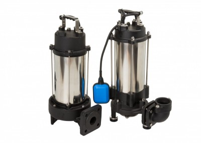 Professional submersible pump for sewage with grinding system Kraken